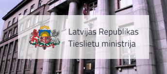 Home page and intranet of Ministry of Justice of the Republic of Latvia